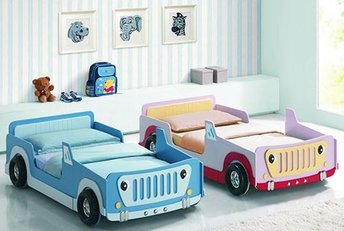 giường ô tô dành cho bé trai