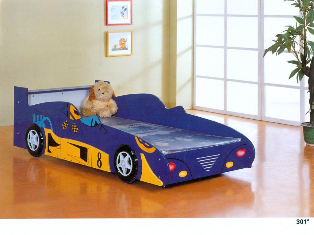 giường ô tô - mẫu giường dành cho bé trai
