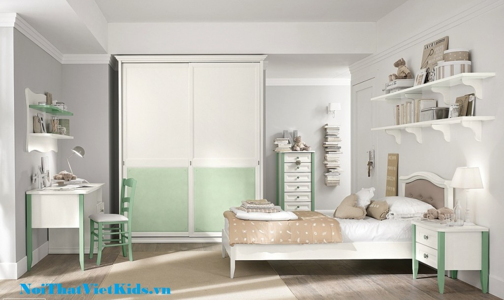 Phong ngu cho be gai cuc chat 1024x610 - 20 thiết kế phòng ngủ hiện đại nhất cho trẻ em