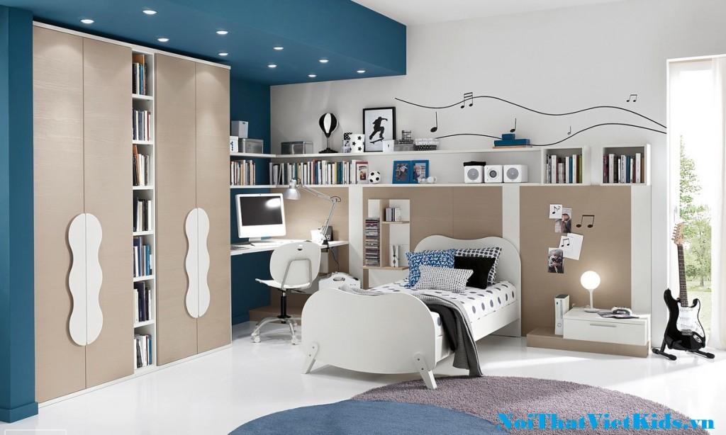 Phong ngu cho teen cuc dep 1024x614 - 20 thiết kế phòng ngủ hiện đại nhất cho trẻ em