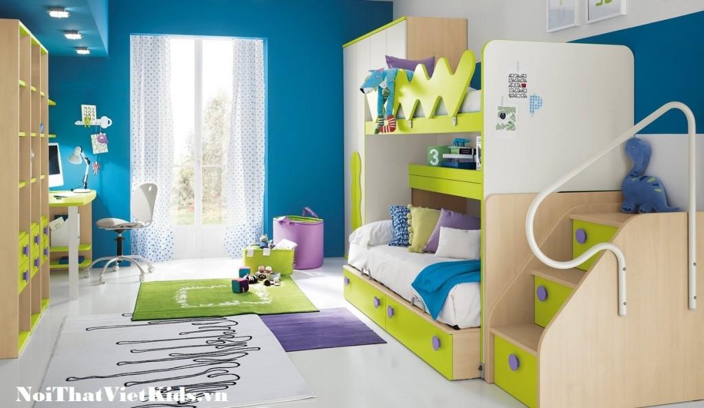 Phong ngu cho tre dep nhat 1024x594 - 20 thiết kế phòng ngủ hiện đại nhất cho trẻ em