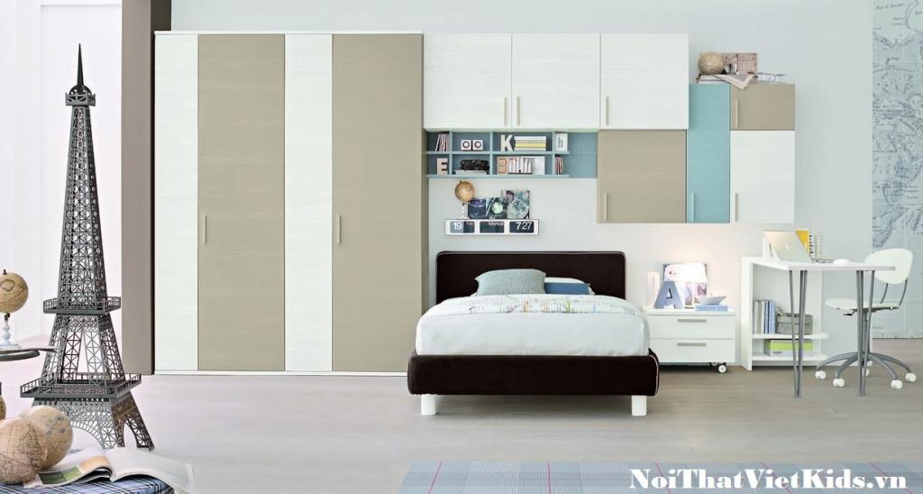 Phong ngu cho tre phong cach du lich 1024x548 - 20 thiết kế phòng ngủ hiện đại nhất cho trẻ em