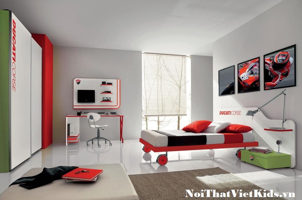 phong ngu do trang cho be trai cuc dep - 20 thiết kế phòng ngủ hiện đại nhất cho trẻ em