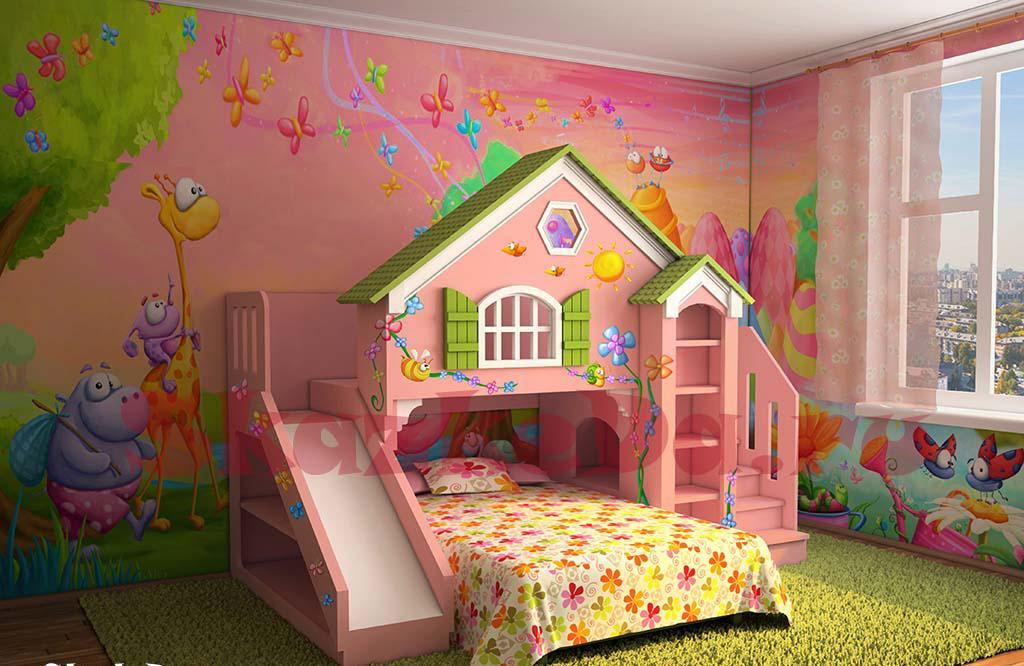 Những điều cần quan tâm khi bài trí nội thất phòng trẻ