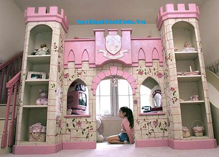 Giường tầng lâu đài