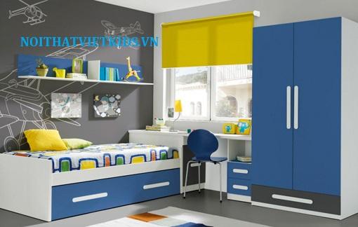 Các-thiết-kế-phòng-ngủ-cho-bé-trai-theo-các-độ-tuổi-phòng-ngủ-bé-trai-màu-xanh