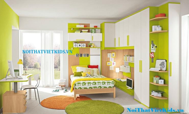 Các thiết kế phòng ngủ cho bé trai theo các độ tuổi