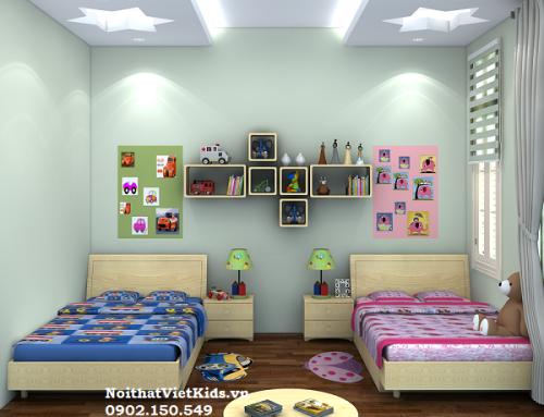 Những thiết kế phòng ngủ trẻ em mới nhất
