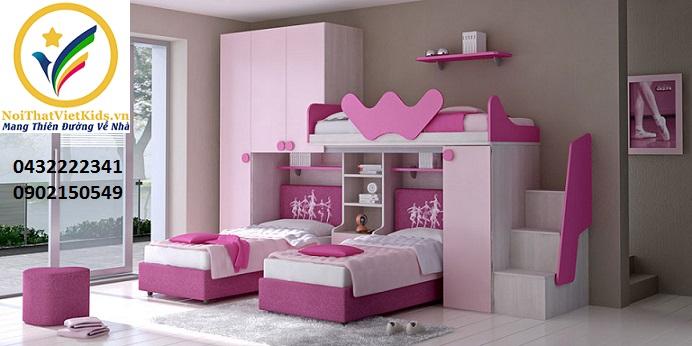 Các mẫu giường tầng liên hoàn cho trẻ em rất đẹp
