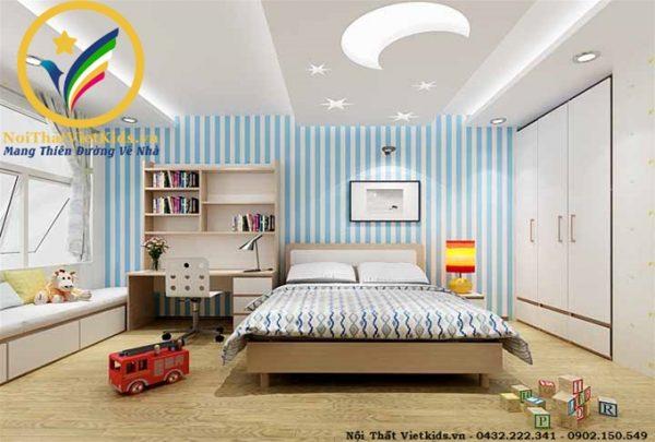 Phòng ngủ bé trai tuổi teen