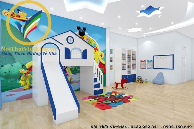 Thiết kế phòng vui chơi cho bé trai- Mrs Giang