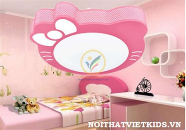 1238 den-tha-tran-tre-em-den-ngu-hello-kitty-hong-cho-be-gai
