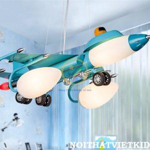 Đèn thả cho bé trai hình máy bay