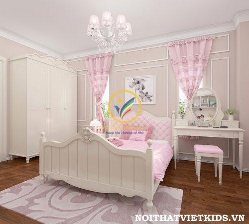 Phòng ngủ bé gái tuổi teen cực yêu