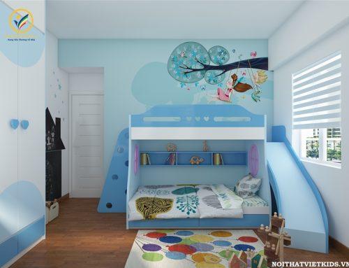 Thiết kế phòng ngủ bé trai đáng yêu