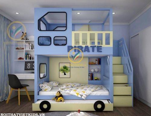Tổng hợp 25 mẫu thiết kế giường tầng trẻ em đẹp nhất