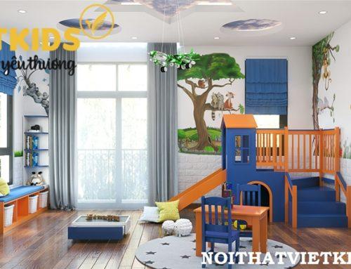 Thiết kế phòng chơi cho bé trai – Mrs. Giang  Green Bay