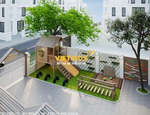 Thiết kế nội thất trường mầm non đẹp Thảo Nguyên