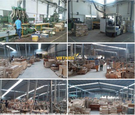 Xưởng sản cuất nội thất xuất khẩu
